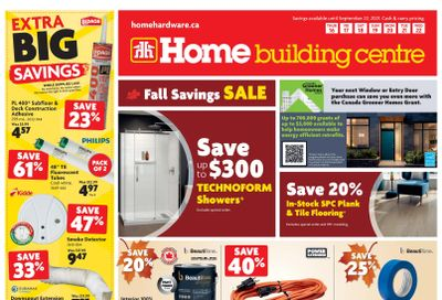 Home Building Centre (ON) Flyer September 16 to 22