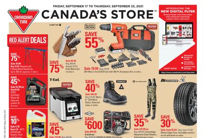Canadian Tire (West) Flyer September 17 to 23