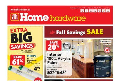 Home Hardware (Atlantic) Flyer September 16 to 22