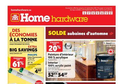 Home Hardware (QC) Flyer September 16 to 22