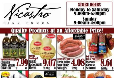 Nicastro Fine Foods Flyer October 21 to November 4