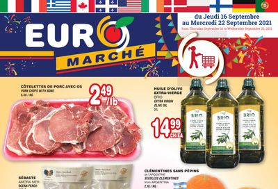 Euro Marche Flyer September 16 to 22
