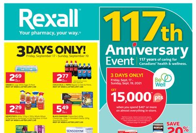 Rexall (West) Flyer September 17 to 23