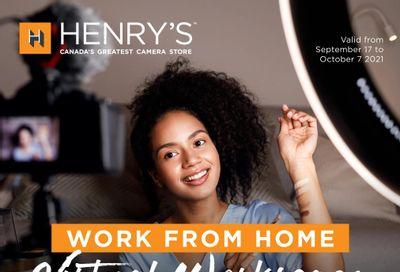 Henry's Flyer September 17 to October 7