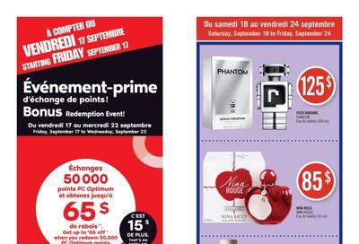 Pharmaprix Flyer September 18 to 24