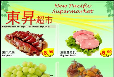 New Pacific Supermarket Flyer September 17 to 20