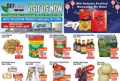 Skyland Food Mart Flyer September 17 to 23