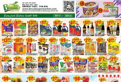 Btrust Supermarket (Mississauga) Flyer September 17 to 23