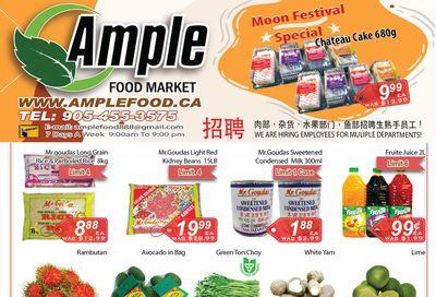 Ample Food Market (Brampton) Flyer September 17 to 23