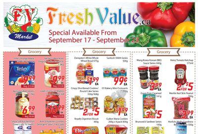 Fresh Value Flyer September 17 to 23