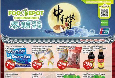 Food Depot Supermarket Flyer September 17 to 23