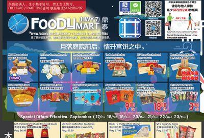 FoodyMart (HWY7) Flyer September 17 to 23