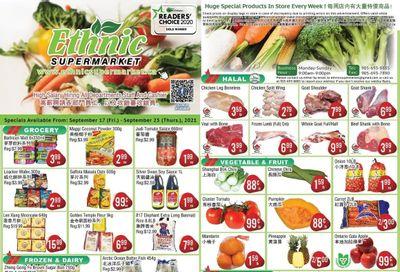 Ethnic Supermarket Flyer September 17 to 23