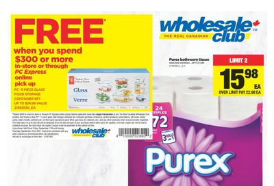Real Canadian Wholesale Club Flyer September 17 to 23