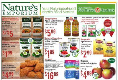 Nature's Emporium Flyer September 17 to 30