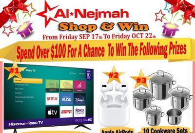 Alnejmah Fine Foods Inc. Flyer September 17 to 23