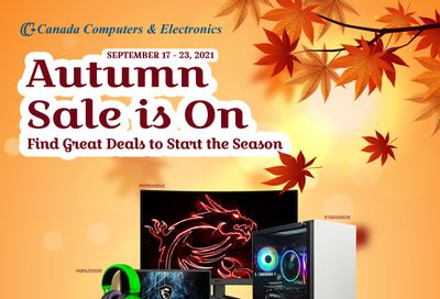 Canada Computers Flyer September 17 to 23