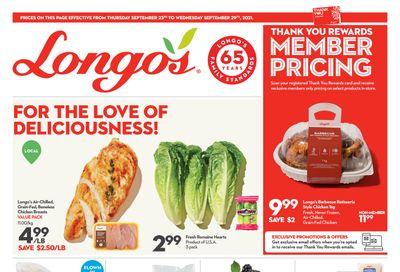 Longo's Flyer September 23 to 29