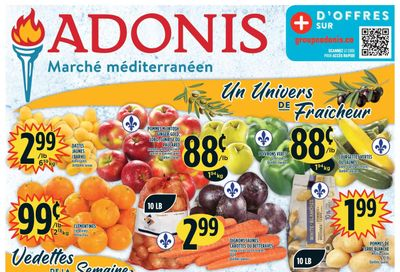 Marche Adonis (QC) Flyer September 23 to 29