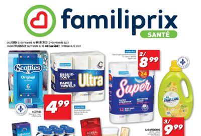 Familiprix Sante Flyer September 23 to 29
