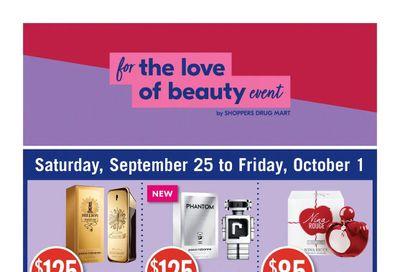 Shoppers Drug Mart (ON) Flyer September 25 to October 1