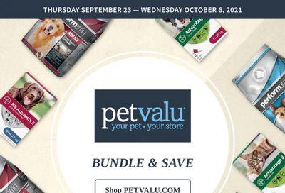 Pet Valu Flyer September 23 to October 6