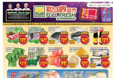 Full Fresh Supermarket Flyer September 17 to 23