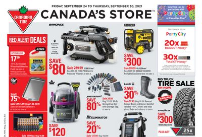 Canadian Tire (ON) Flyer September 24 to 30