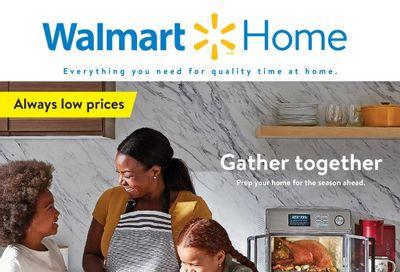 Walmart Home Flyer September 23 to October 20