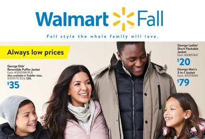 Walmart Fall Flyer September 23 to October 20