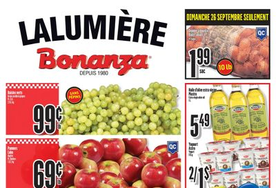 Bonanza Flyer September 22 to 28