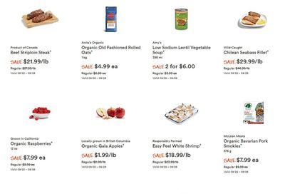 Whole Foods Market (West) Flyer September 22 to 28
