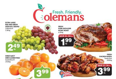 Coleman's Flyer September 23 to 29