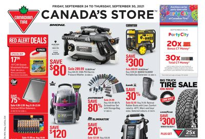 Canadian Tire (West) Flyer September 24 to 30