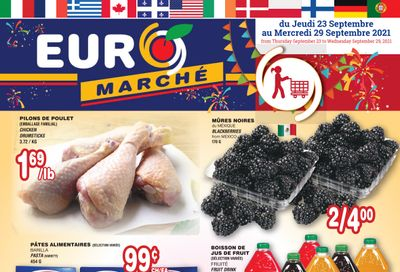 Euro Marche Flyer September 23 to 29