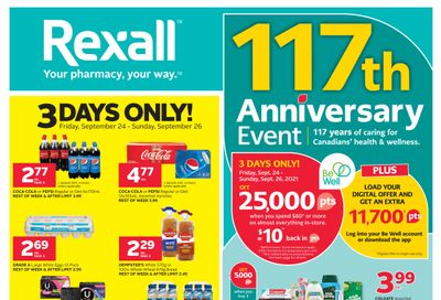 Rexall (West) Flyer September 24 to 30
