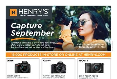 Henry's Flyer September 6 to 12