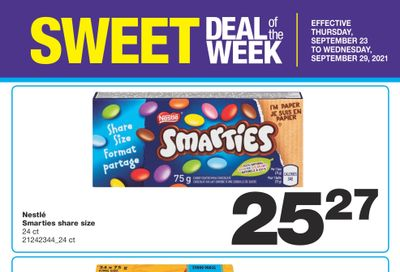 Wholesale Club Sweet Deal of the Week Flyer September 23 to 29