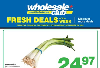 Wholesale Club (Atlantic) Fresh Deals of the Week Flyer September 23 to 29