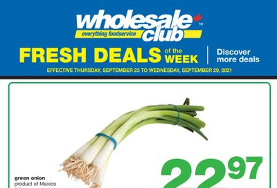 Wholesale Club (ON) Fresh Deals of the Week Flyer September 23 to 29