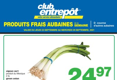 Wholesale Club (QC) Fresh Deals of the Week Flyer September 23 to 29