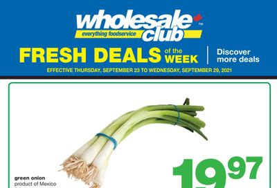 Wholesale Club (West) Fresh Deals of the Week Flyer September 23 to 29