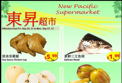 New Pacific Supermarket Flyer September 24 to 27