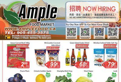 Ample Food Market (Brampton) Flyer September 24 to 30