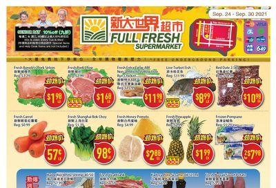 Full Fresh Supermarket Flyer September 24 to 30