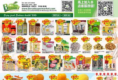 Btrust Supermarket (Mississauga) Flyer September 24 to 30