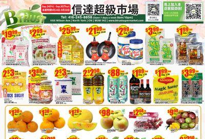 Btrust Supermarket (North York) Flyer September 24 to 30