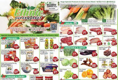 Ethnic Supermarket Flyer September 24 to 30