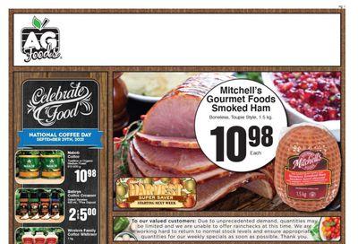AG Foods Flyer September 24 to 30