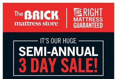 The Brick Mattress Store Flyer September 24 to 27